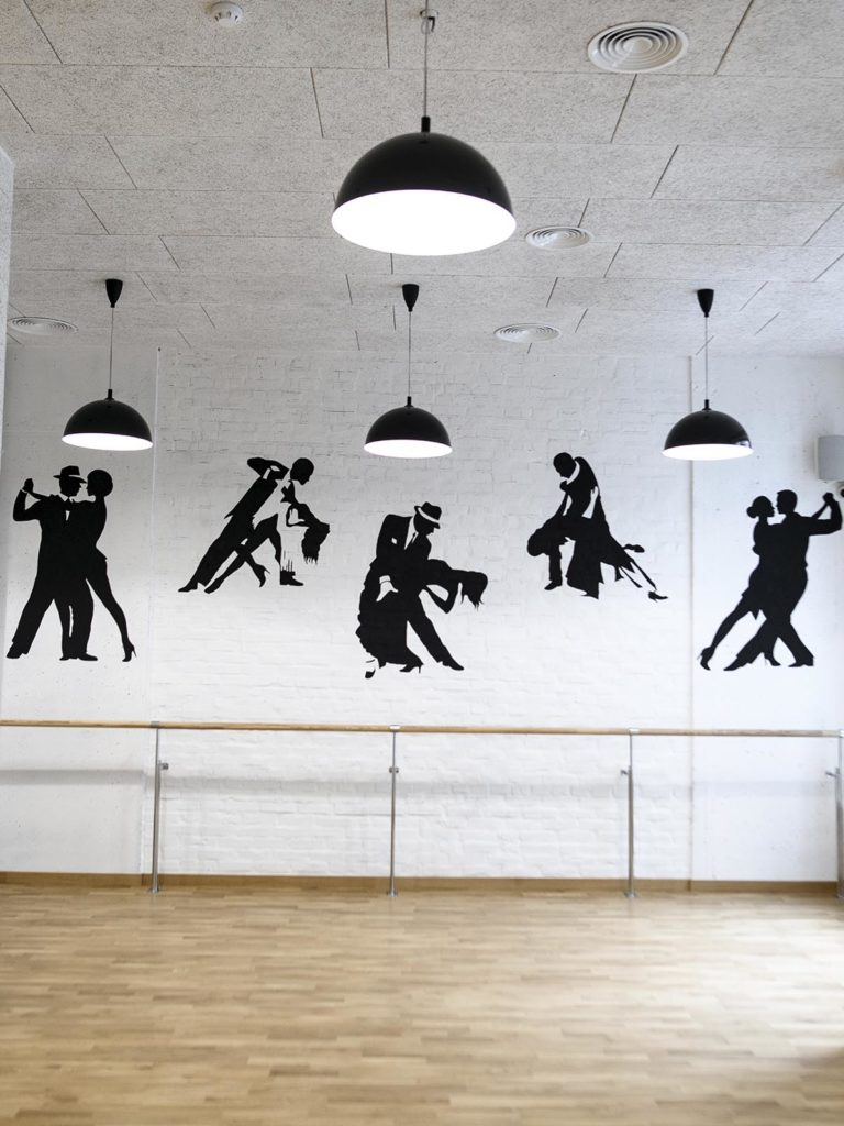 Five reasons why dancing it's good for you or how to become healthy, beautiful and self-confident.