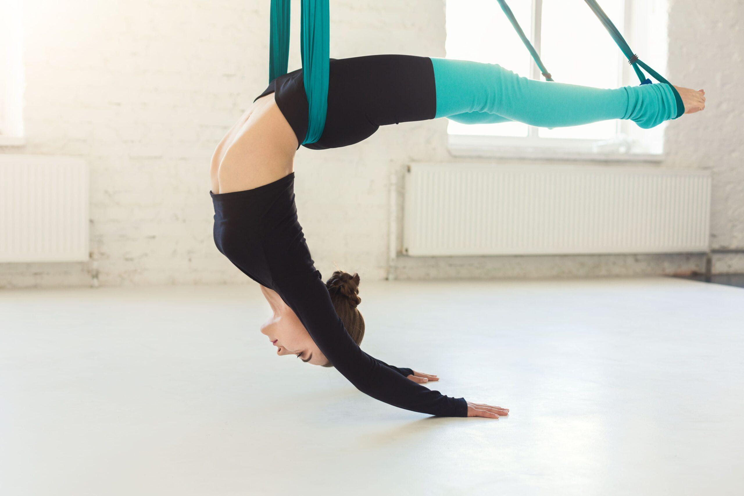 Fly yoga. Отличия от классической йоги.